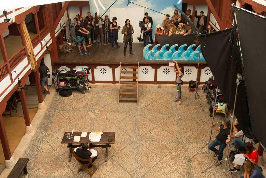 El Corral de Comedias de Almagro ha acogido la grabación de 'El Ministerio del Tiempo'