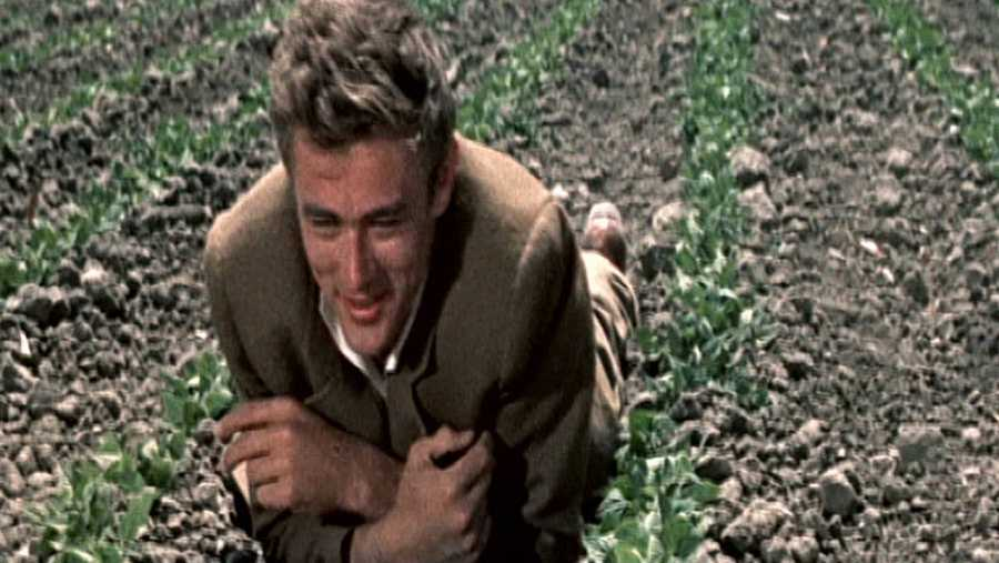 James Dean en 'Al este del Edén'