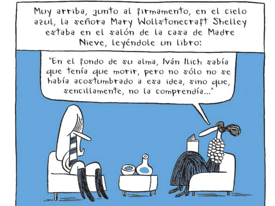Mary Shelley y Madre Nieve