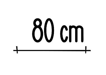 Logo 80 cm
