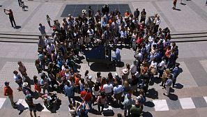 Ponemos un piano en pleno corazón de Madrid, en la Plaza de Oriente frente al Teatro Real