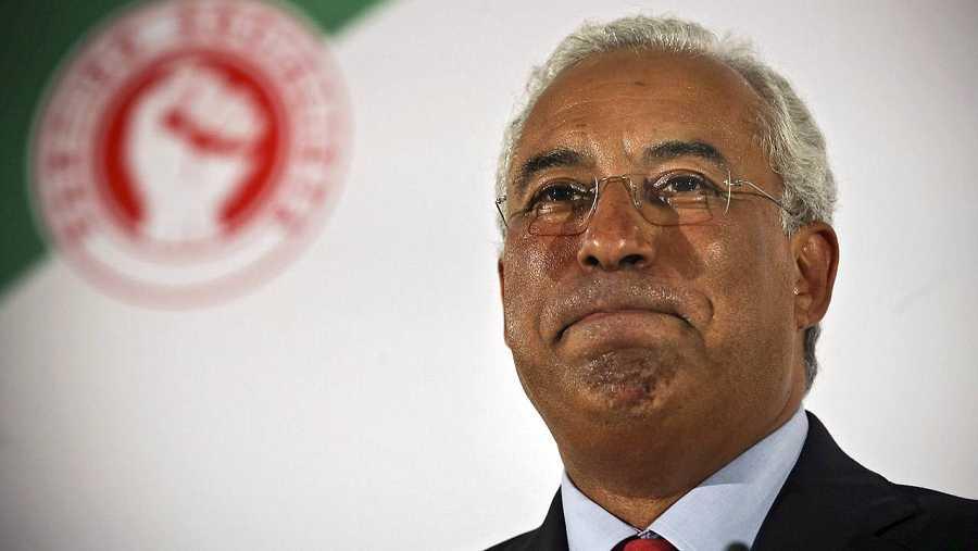 El secretario general del Partido Socialista Portugués, Antonio Costa, tras las elecciones generales. EFE/EPA/MARIO CRUZ