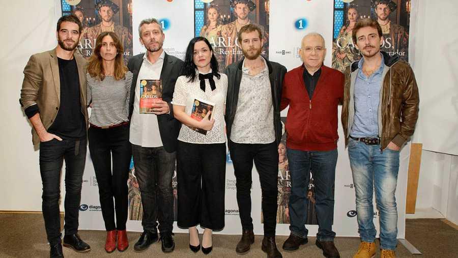 Alfonso Bassave, Montse García, David Trías, Laura Sarmiento, Álvaro Cervantes, Nicolás Romero y Víctor Clavijo