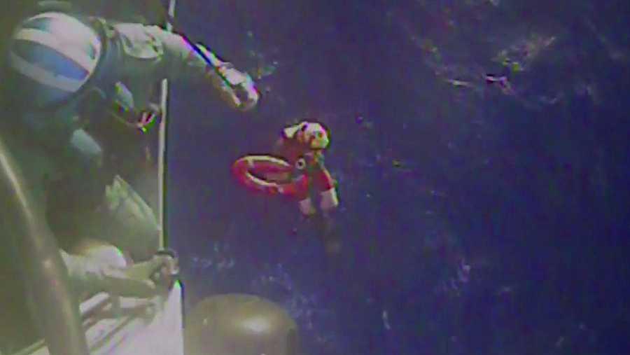 Tareas de búsqueda del barco mercante 'El Faro'