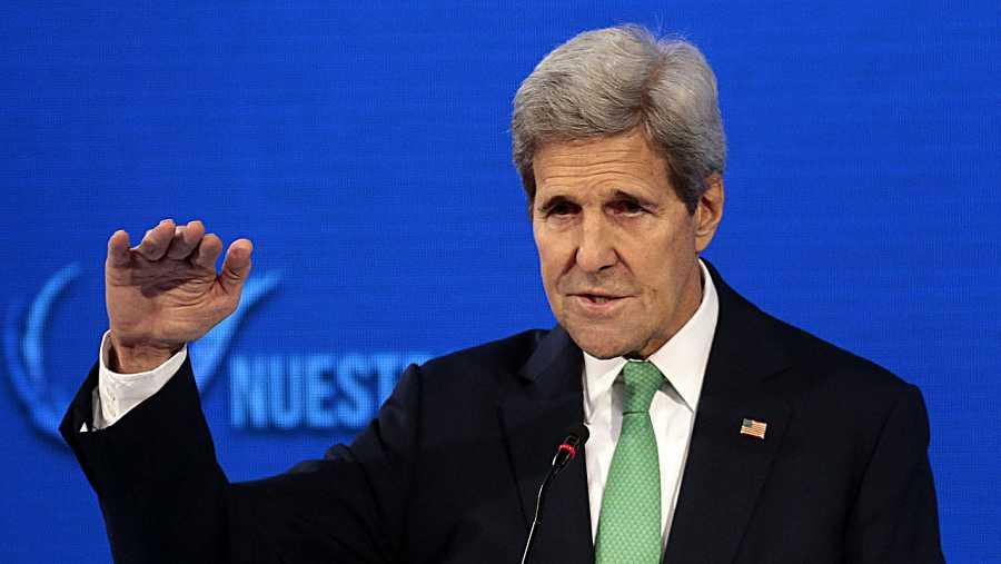 El secretario de Estado de Estados Unidos, John Kerry, critica la incursión rusa en Turquía