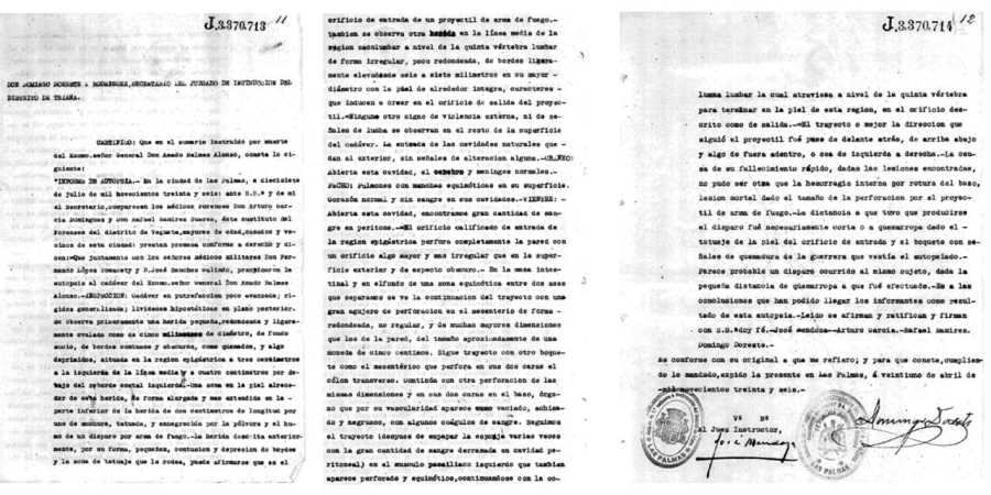 FRANCO NO MATÓ A BALMES: DOCUMENTOS INÉDITOS DE 1936 ACREDITAN EL ACCIDENTE