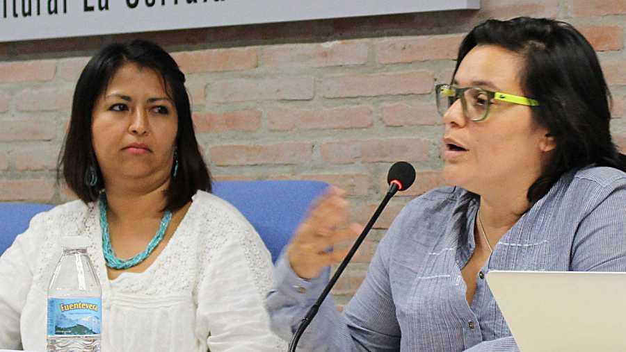 Encuentro de defensoras de los derechos humanos de Centroamérica en Madrid