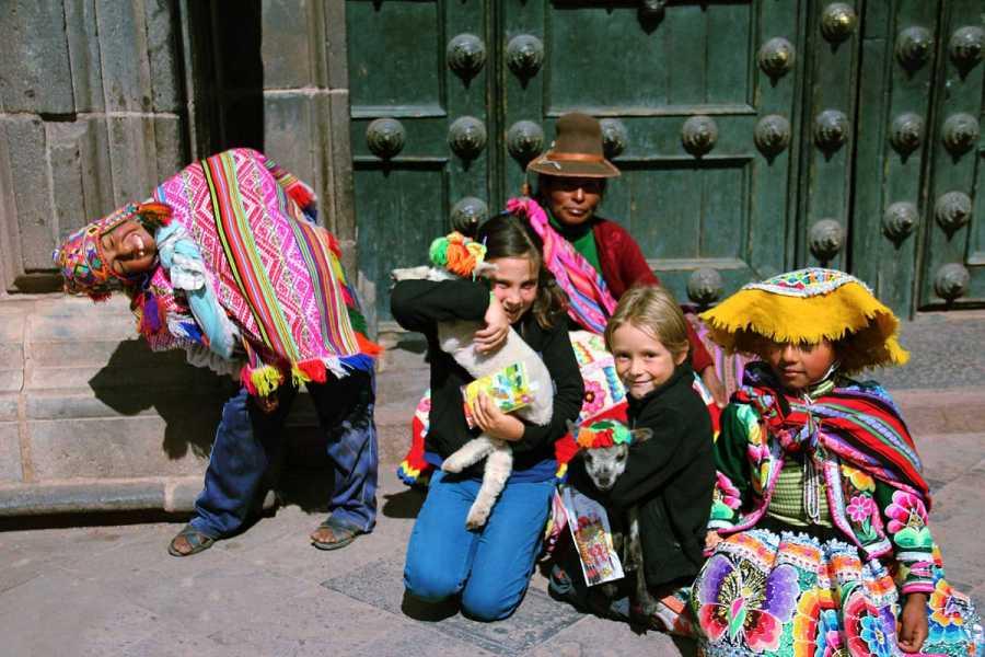 Candela y Mateo en Cuzco