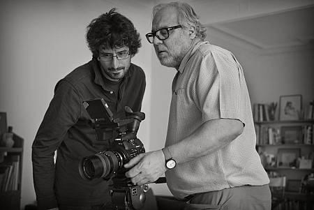 Rodando el documental sobre Ramón Gaya para 'Imprescindibles'
