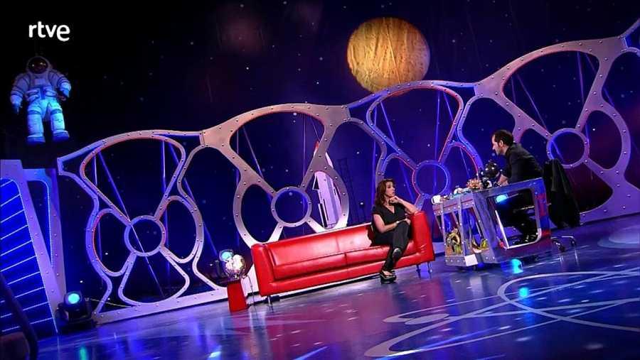 La actriz Llum Barrera participa en 'Seis Hermanas' de TVE