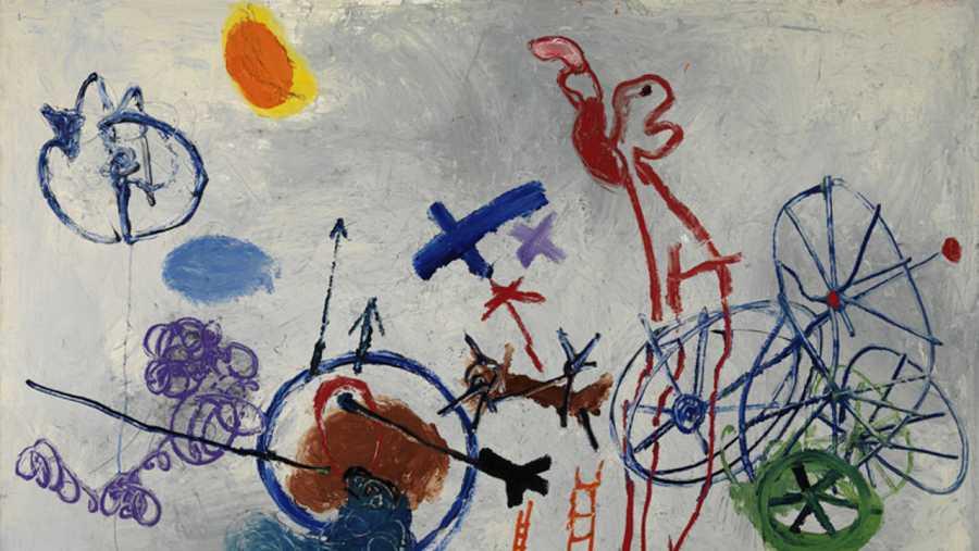 'Adieu la P.' (1962), Cobra Museum Art, Amstelveen