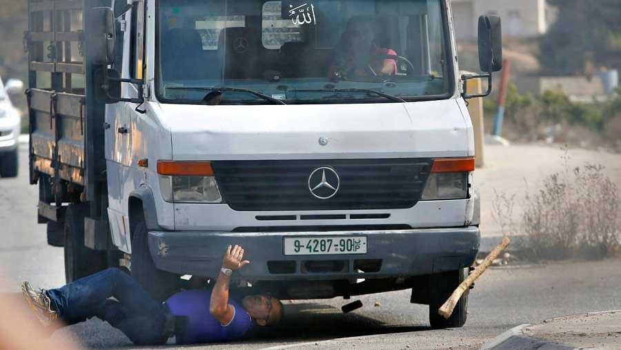 Atropello de un israelí, que ha resultado muerto, por un camión en Hebrón