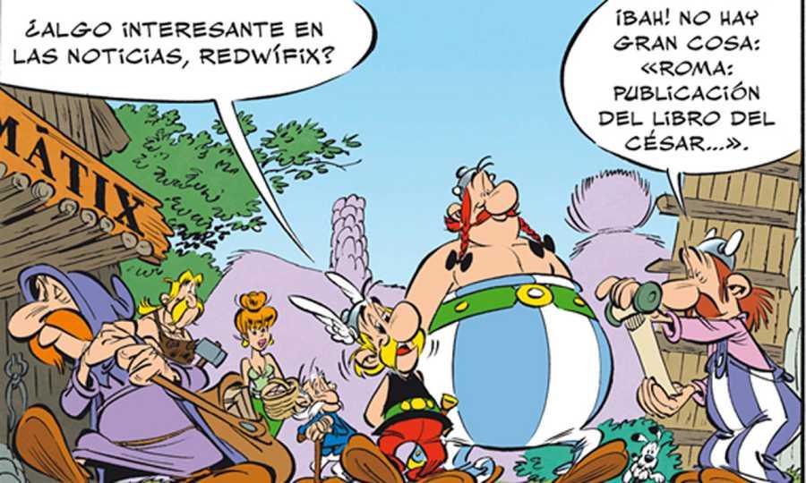 Viñeta de 'Astérix: El papiro del César'