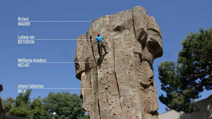 Realizamos una escalada con el experto escalador Elías Coll, del Centro de Tecnificación de Alpinismo de Catalunya