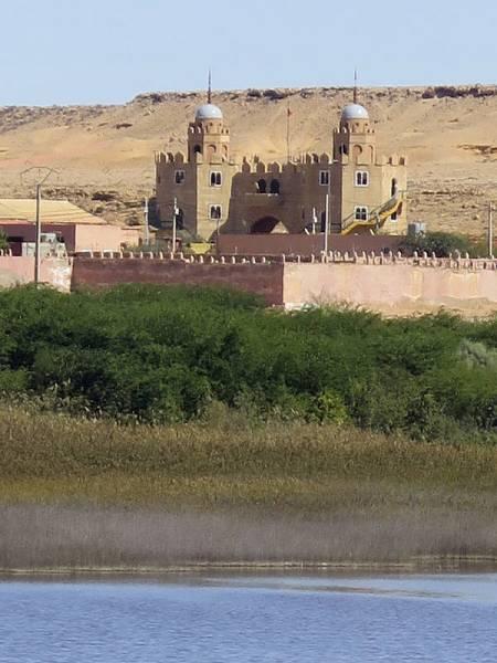 Antiguo cuartel de la Legión en El Aaiún.