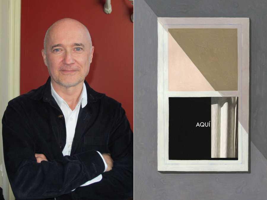 Richard McGuire en Madrid y portada de su libro 'Aquí'