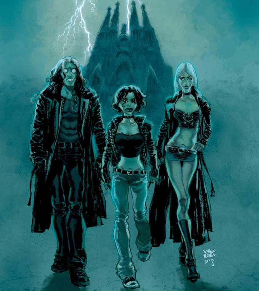 Los protagonistas de 'El baile del vampiro'