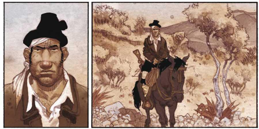 Viñetas de 'Guerrilleros' (2009)