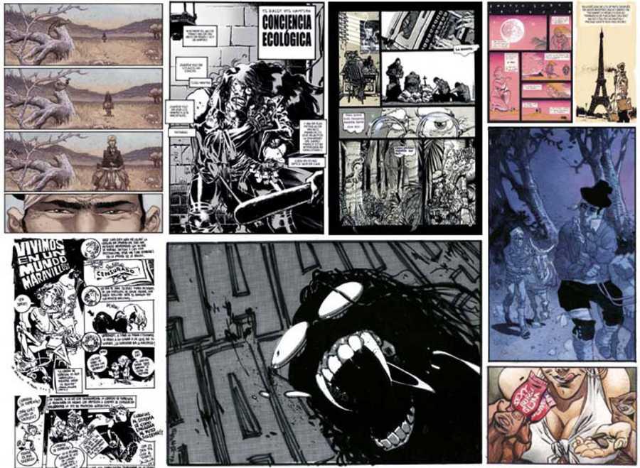 Páginas de 'Esto vende', de Sergio Bleda