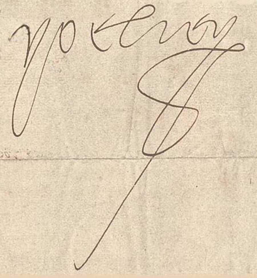 Firma de Carlos V