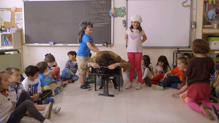Explicamos la ópera a unos niños de primaria y a sus padres