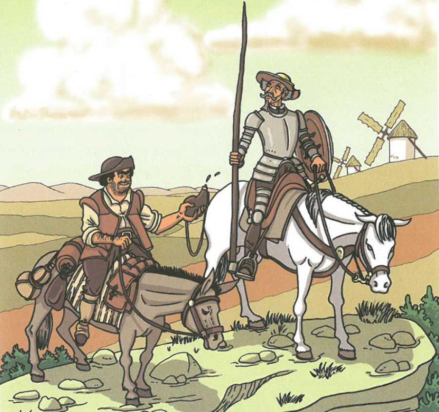 Página de 'Cervantes: La ensoñación del genio'
