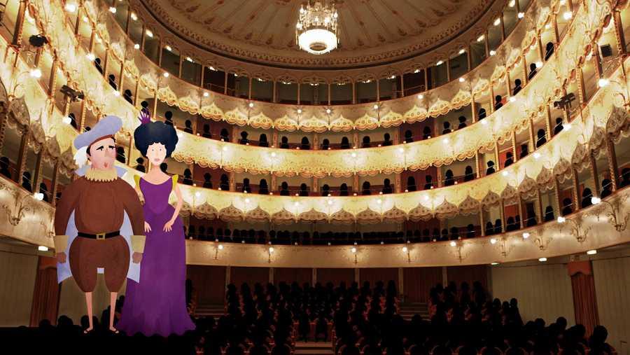 El maravilloso Teatro Olimpico de Vicenza es el primer teatro cerrado del mundo