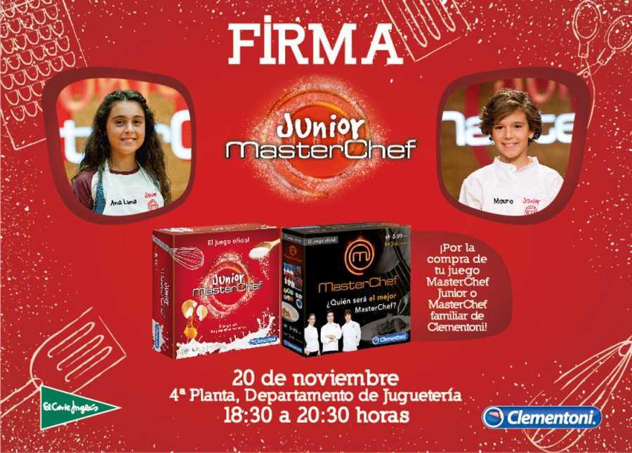 Ana Luna y Mauro firmarán el juego en Sevilla el 20 de noviembre.