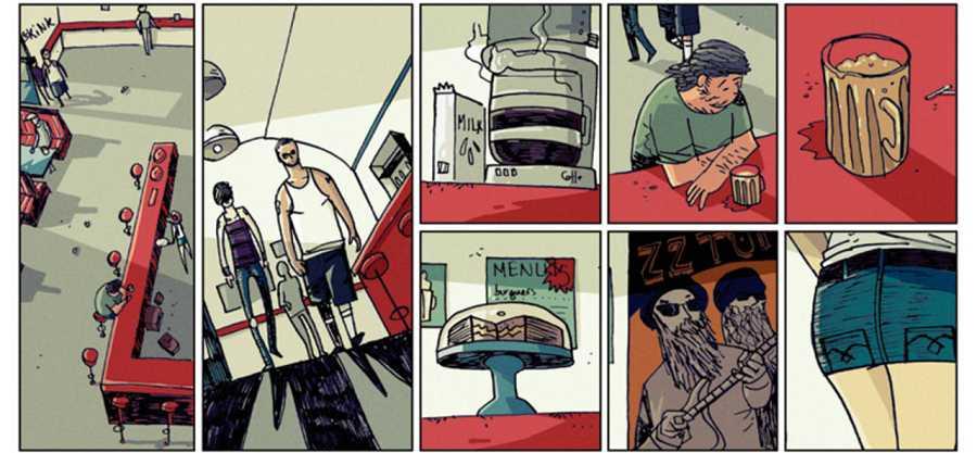Viñetas de 'Sicarios: Olmito'