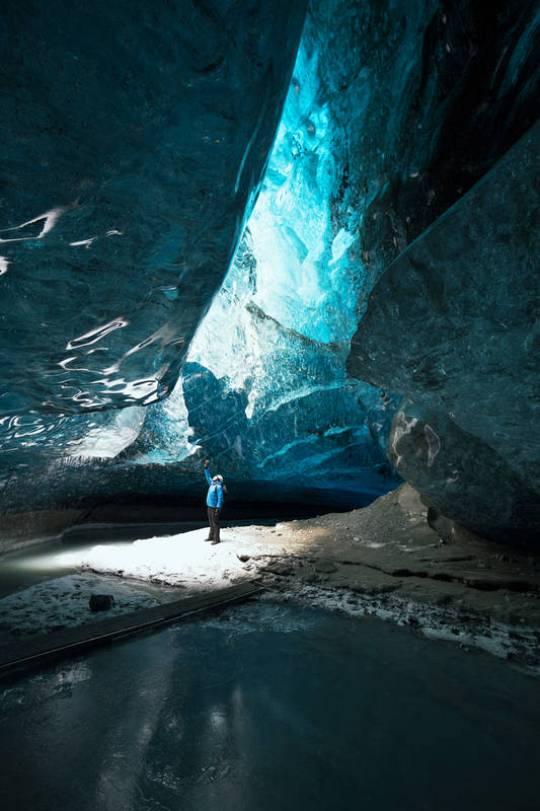 El hielo permite aprender sobre la historia del clima.