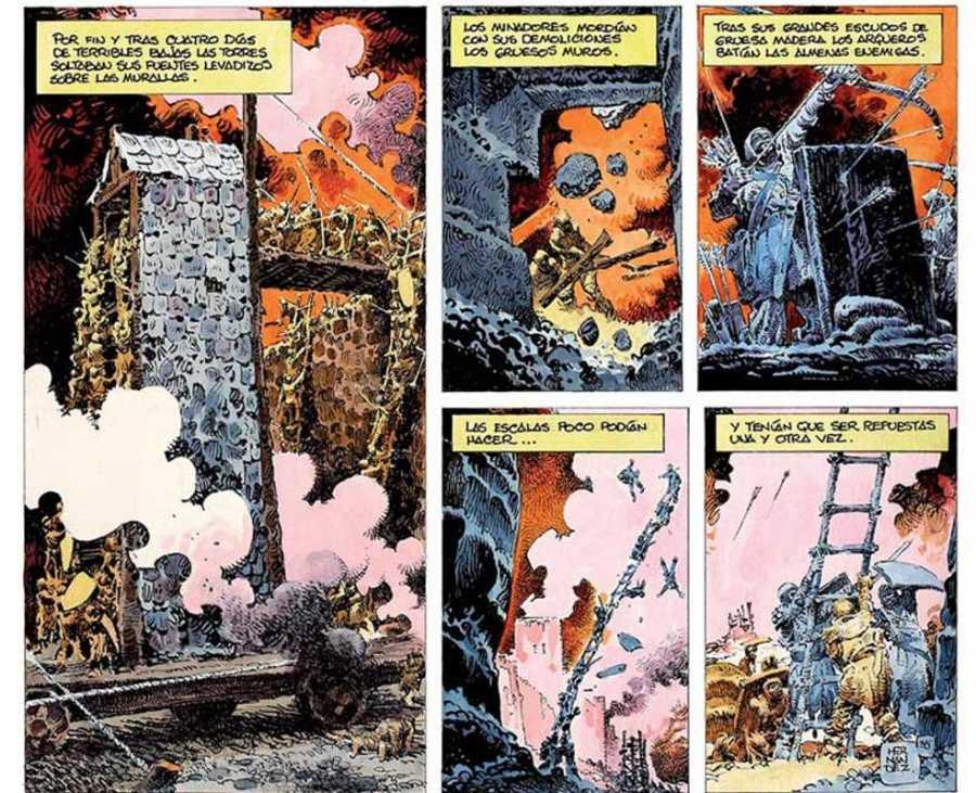 Viñetas de 'El Cid', de Antonio Hernández Palacios