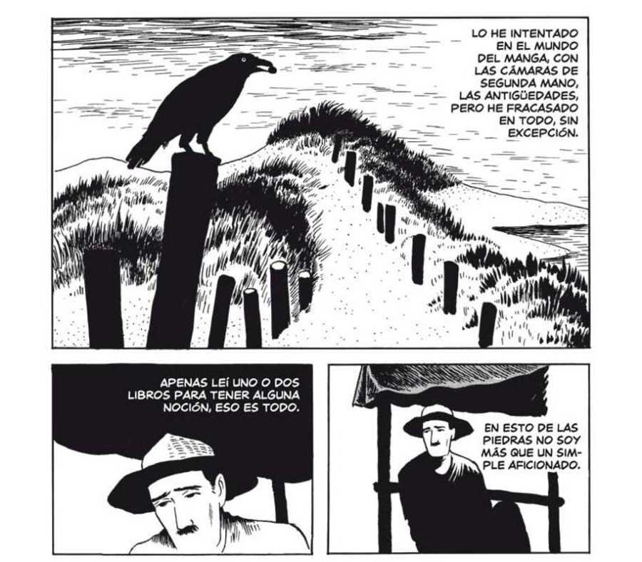 Viñetas de 'El hombre sin talento'