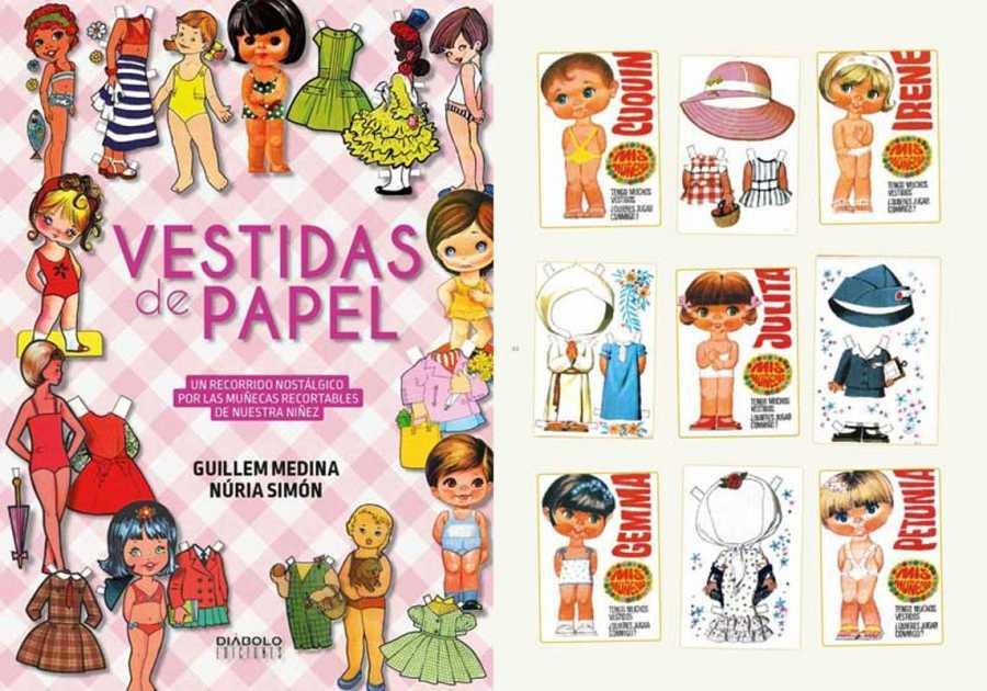Vestidas De Papel Las Muñecas Recortables De Nuestra Niñez Rtvees