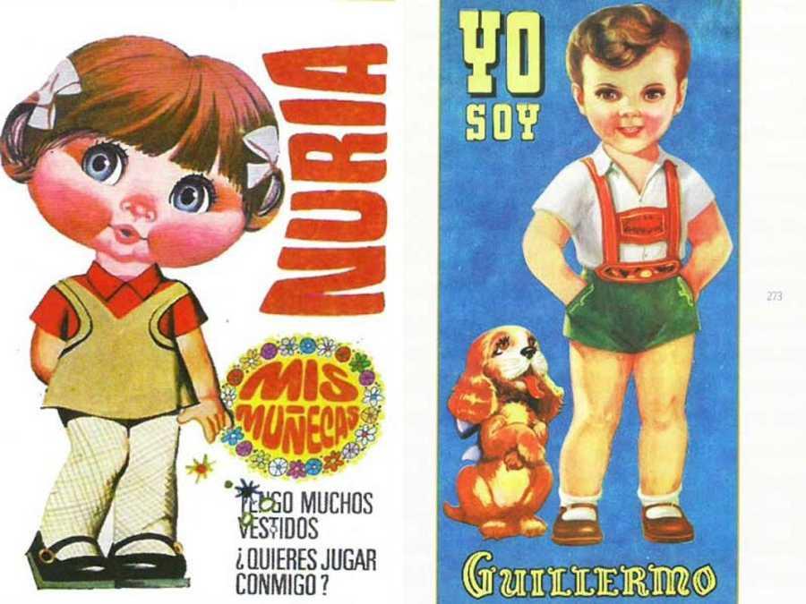 Núria Simón y Guillem Medina convertidos en recortables
