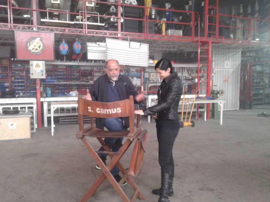 Clara Peñalver habla con Reyes Abades, uno de los máximos expertos en efectos especiales del cine español