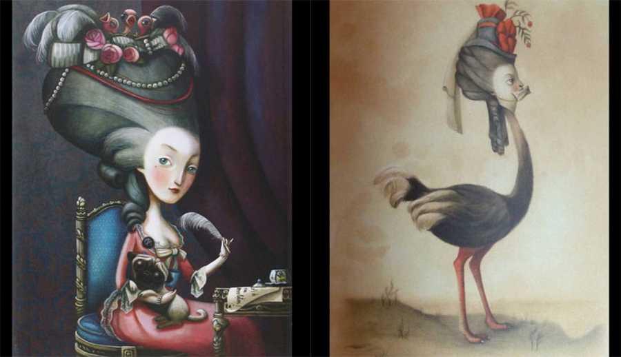 Ilustraciones de 'María Antonieta. Retrato de una reina'