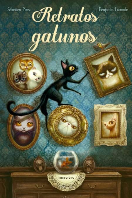 Portada de 'Retratos gatunos'