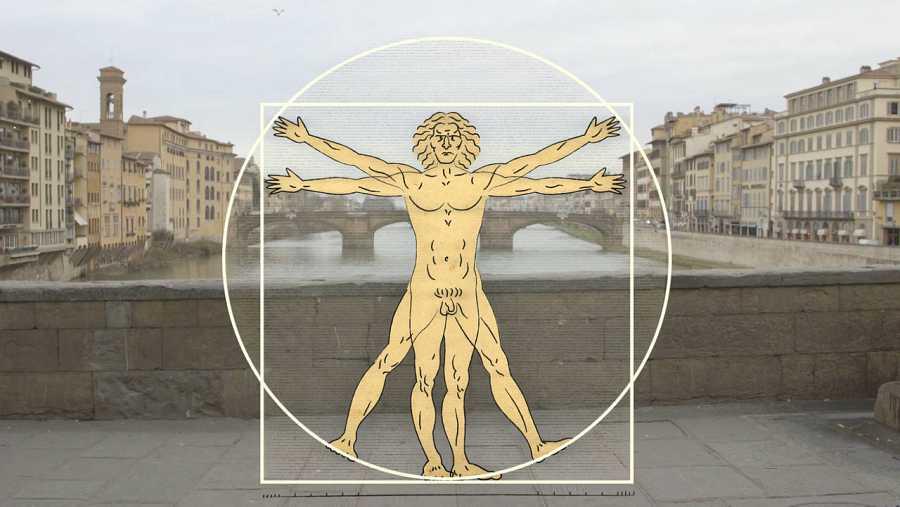 Leonardo es originario de Vinci, una localidad muy próxima a Florencia