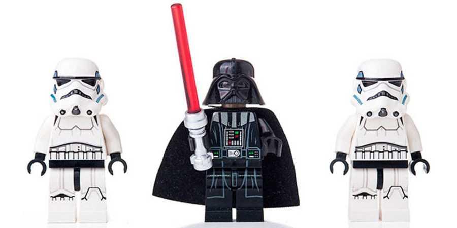 Muñecos de Star Wars de Lego
