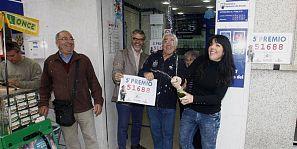 EL CAMPELLO (ALICANTE) VENDE Ã¿NTEGRO UN QUINTO, EL 51.688, CON 9,6 MILLONES