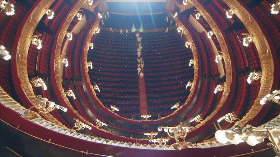 El escenario de la ópera