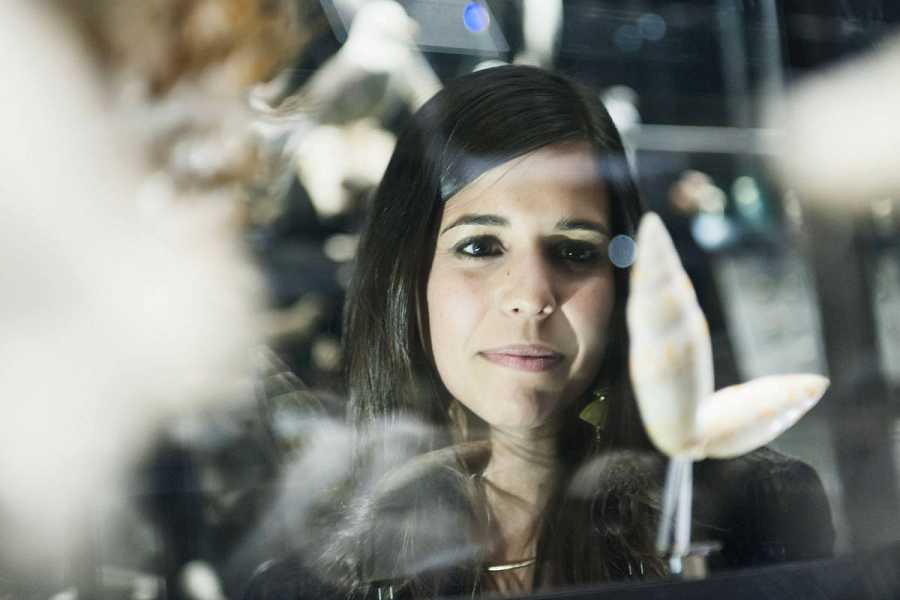 Evelyn Segura, presentadora animalades, al Museu Blau de Barcelona