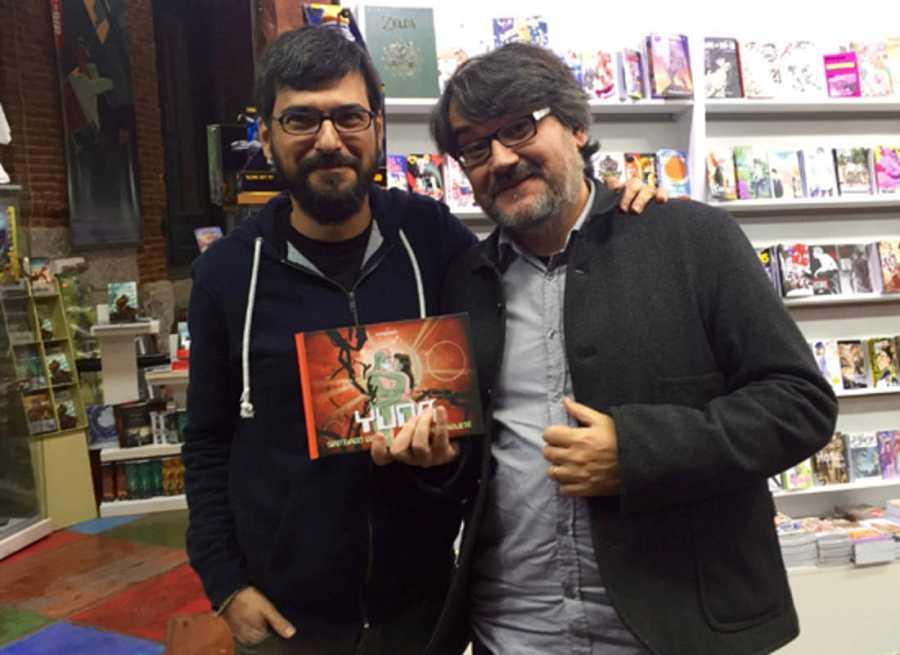 Juaco Vizuete y Santiago García
