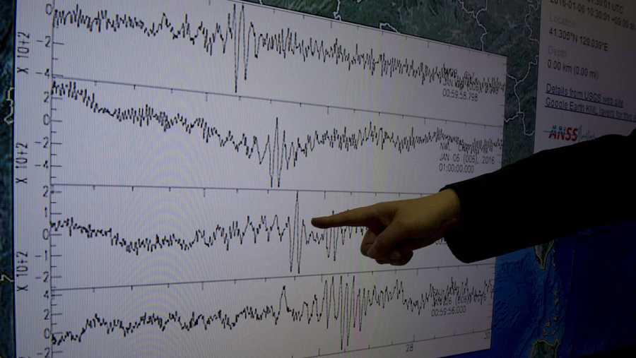 El seísmo registrado 50 kilómetros al norte de Kilju alcanzó los 5,1 grados en la escala Richter.