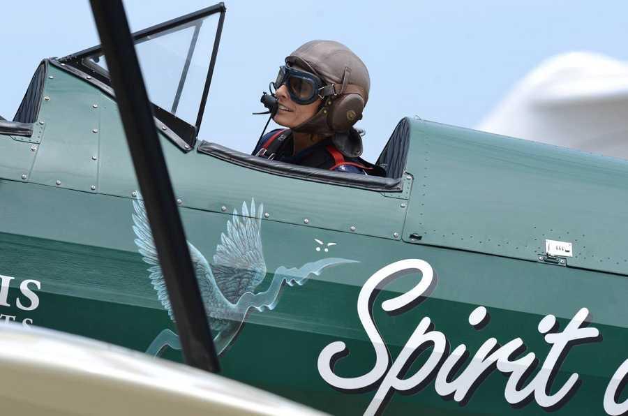 La piloto británica, Tracey Curtis-Taylor