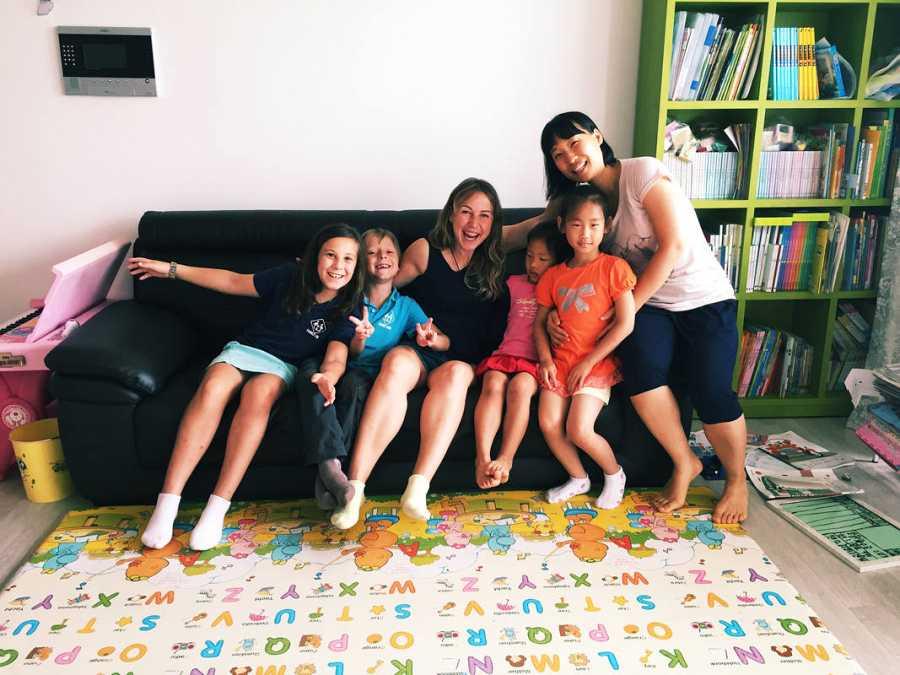 La familia en Corea