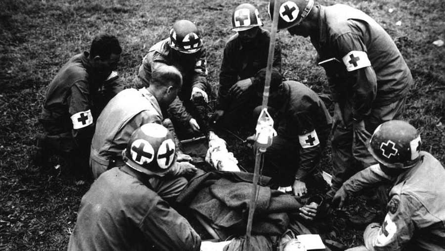 Transfusión de sangre en la Segunda Guerra Mundial