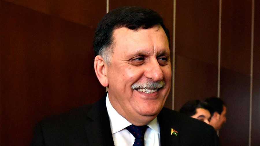 El presidente del Consejo Presidencial repaldado por la ONU, Mohamad Fayaz el Sarraj