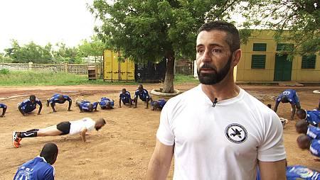 Campo de entrenamiento de Koulikoro, en Mali