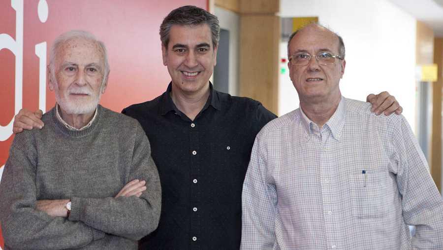 Martínez de Pisón y Uriondo nos acompañaron en RNE Madrid